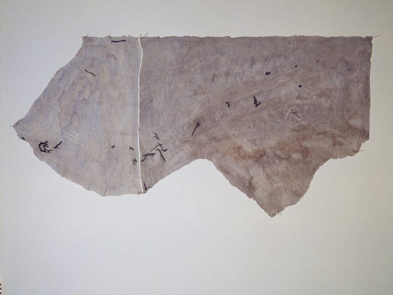 Carte di Riso Camuni acquerello su carta di riso e strappo